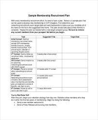 recruitment plan template recruitmentstrategy 122789999518