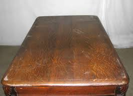 Antique Wooden Drafting Table by Antique Tiger Oak Table Or Desk With Cabriole Legs Olde Good Things