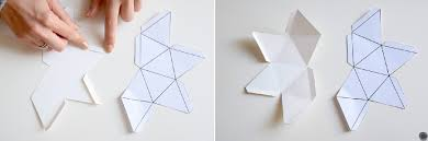 suspension origami diy diy 27 noël suspension mini pinata à franges c by clemence