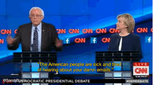 Damn Meme Gif - bernie sanders the american people are tired of hearing about your