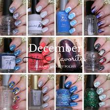 december favorite nail polishes nail art be happy and buy polish