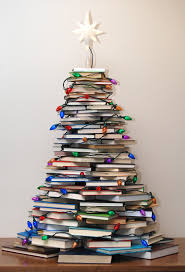 very merry vintage syle how to make a book tree cute christmas