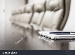 On Table Closeup Notepad Agenda Kept On Table Stock Photo 178464512