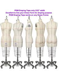 Draping On A Dress Form Amazon Com Draping Tapes For Pattern Making Fashion Design 5