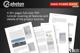 unity networking tutorial pdf photon rally tutorial asset store