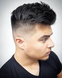 coupe cheveux homme dessus court cot 1001 idées dégradé américain homme une remontée au millimètre