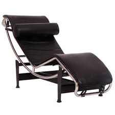Leather Chaise Lounge Chair Le Corbusier Style Lc4 Genuine Leather Chaise Lounge Free