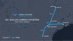 One World Route Map by Texas Hyperloop Could Transform Lone Star State Into Global