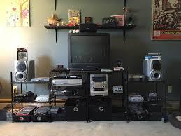 my brothers retro gaming setup gaming
