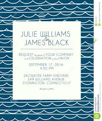 Background Of Invitation Card Wedding Invitation Card With Abstract Water Background Stock
