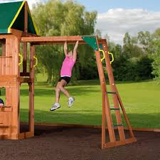 Swings For Backyard Backyard Discovery Prairie Ridge Swing Set Bj U0027s Wholesale Club