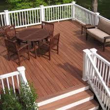 composite decks here u0027s a composite deck with white