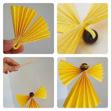 how to make a fan out of paper how to make an angel doll using paper educator101educator101
