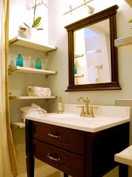 small bathroom remodel ideas shelving unit attached wall tufted