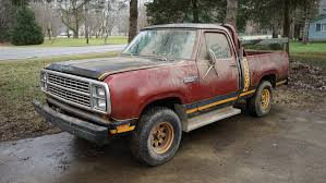 dodge truck power wagon rescuing a 1979 dodge power wagon from decades in a