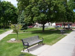 Old Park Benches Avery Park Is Located On N