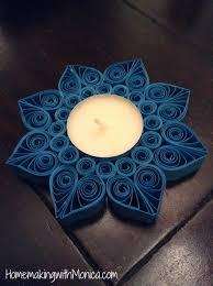 quilled tealight holder tutorial quilling gyertyatartó candle