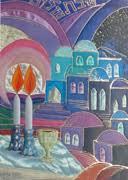 shabbat candles bracha lavee art gallery