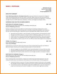 Example Of Executive Summary For Resume by 9 Executive Summary Sample Resume Reference