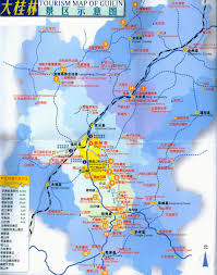 Xiamen China Map by Tourist Map Of Guilin Guilin Tourist Map Travel Map Of The