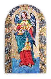 Painting Icon Saatchi Art Icon Of St Gabriel Painting By Helen Art