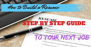 How To Build A Resume How To Build A Resume Step By Step Guide To Your Next Job Wisestep