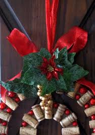 wine u0026 cork diy wine cork christmas wreath diy projects to