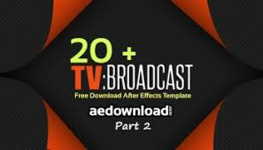 20 broadcast package after effects templates part 1 free after