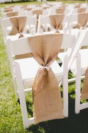 burlap chair sashes burlap chair sashes rustic wedding decor hire hessian