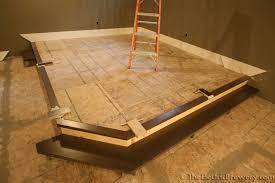 Carpet Tiles In Basement Kal U0027s Basement Brewery Bar Home Theatre Build 2 0