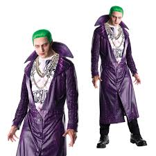 Womens Joker Halloween Costume Rubies Mens Official Squad Joker Fancy Dress Halloween