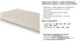 larghezza materasso singolo materassi reti a doghe cuscini settore riposare bene poggi