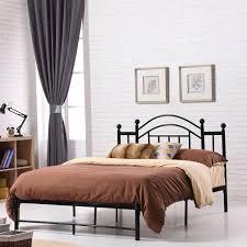 premium platform bed elegant vintage inspired design furniture