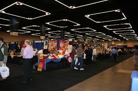 exhibit hall in the oregon convention center exhibit halls