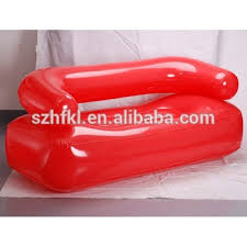 2 seater lounge red inflatable sofa chair couch for indoor