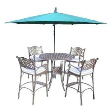 Bar Height Patio Furniture by Wicker Bar Height Patio Set U2013 Smashingplates Us