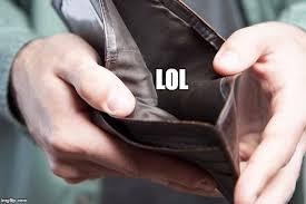 Meme Wallet - empty wallet meme partyjollof