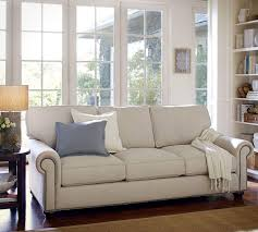 pottery barn sofa bed webster upholstered sofa with nailheads 241 cm pottery barn au