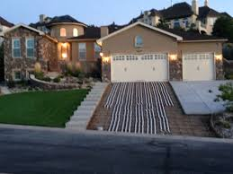 steep hillside house plans image result for steep driveway with embedded stairs walmer dr