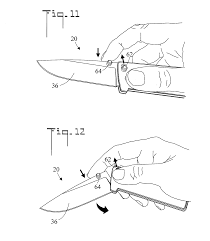 patente us20130000129 locking mechanism for a folding knife