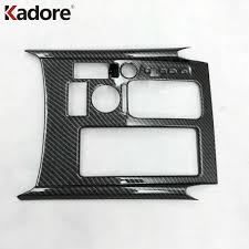 aliexpress com buy abs carbon car gear box panel cover trim for