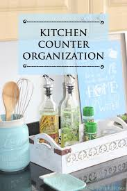 Countertop Organizer Kitchen by Kitchen Counter Organization Week 5 Neat House Sweet Home