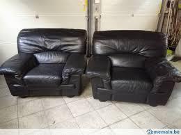 canape trois place canapé trois place et 2 f 1 en cuir noir confortable a