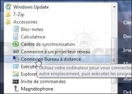 bureau à distance windows 7 supprimer les informations enregistrées par la connexion bureau à