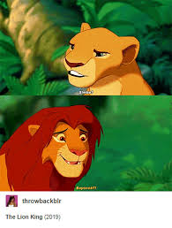 Lion King Cell Phone Meme - 23 of the internet s best reactions to the lion king reboot cast