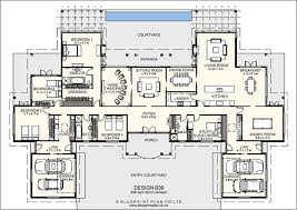large country house plans idea house plans with flat attached nz 6 large