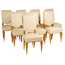 Art Deco Dining Room Set by Art Deco Dining Chairs By Batistin Spade Art Deco And Dining Chairs