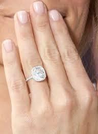 thin band engagement ring zolciak engagement ring the real of atlanta