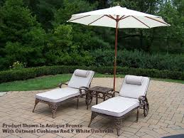 Umbrella Side Table Chaise Lounge Side Table Outdoorlivingdecor