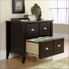 Black Desk With File Drawer Furniture Magnificent Rolling File Cabinet With Lock 2 Drawer